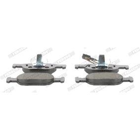 Bremsbelagsatz, Scheibenbremse FERODO Art.No - FDB1040 kaufen