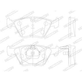 34111163953 für BMW, Bremsbelagsatz, Scheibenbremse FERODO (FDB1073) Online-Shop