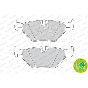 FERODO Bremsbelagsatz, Scheibenbremse 34211163395 für BMW, MINI, SAAB, ROVER, MG bestellen
