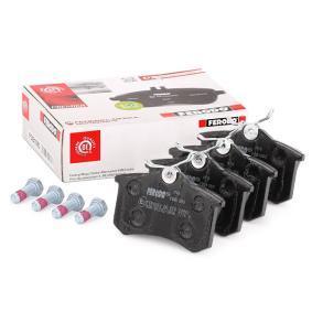 FERODO Bremseklodser bagaksel FDB1083 af original kvalitet