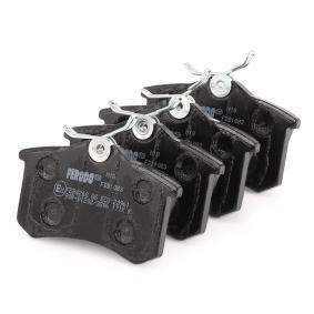 FERODO Bremseklodser bagaksel 5016687093278 Rating