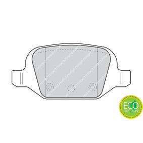 Pastillas de freno (FDB1324) fabricante FERODO para FIAT PUNTO (188) año de fabricación 07/2010, 132 CV Tienda online