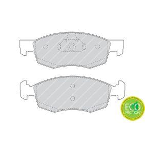 FERODO Bremsbelagsatz, Scheibenbremse 9949125 für FIAT, SEAT, ALFA ROMEO, LANCIA bestellen