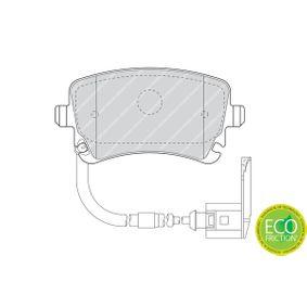 FERODO Bremsbelagsatz, Scheibenbremse 3D0698451 für VW, AUDI, SKODA, SEAT bestellen