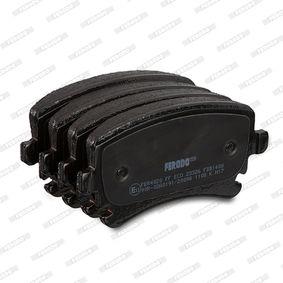 3D0698451 für VW, AUDI, SKODA, SEAT, Bremsbelagsatz, Scheibenbremse FERODO (FDB1408) Online-Shop