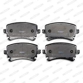 FERODO FDB1408 Bremsbelagsatz, Scheibenbremse OEM - 3D0698451 AUDI, SEAT, SKODA, VW, VAG, HOLMAN, A.B.S., OEMparts günstig