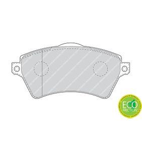 FERODO Bremsbelagsatz, Scheibenbremse 23615 für MERCEDES-BENZ, PEUGEOT, CITROЁN bestellen
