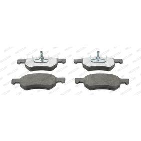 Bremsbelagsatz, Scheibenbremse FERODO Art.No - FDB1474 OEM: 5015365AA für ALFA ROMEO, JEEP, CHRYSLER, DODGE kaufen