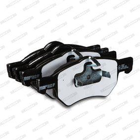 5015365AA für ALFA ROMEO, JEEP, CHRYSLER, DODGE, Bremsbelagsatz, Scheibenbremse FERODO (FDB1474) Online-Shop