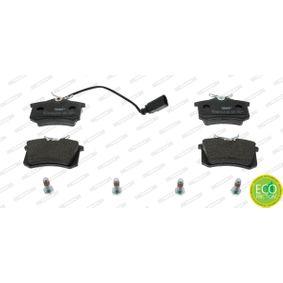 Bremsbelagsatz, Scheibenbremse FERODO Art.No - FDB1481 OEM: 1343513 für VW, FORD, SEAT, RENAULT TRUCKS, SATURN kaufen