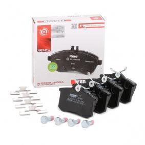6025371650 für VW, AUDI, FORD, RENAULT, PEUGEOT, Bremsbelagsatz, Scheibenbremse FERODO (FDB1491) Online-Shop