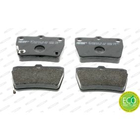 FERODO Brake pad set FDB1531