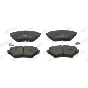 Bremsbelagsatz, Scheibenbremse FERODO Art.No - FDB1600 OEM: N0Y93323Z für MAZDA, MERCURY kaufen