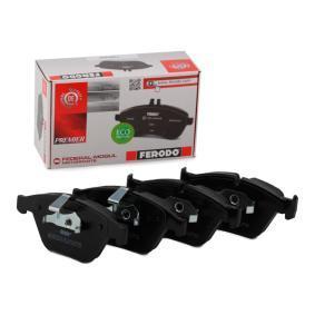 34116794916 für BMW, Bremsbelagsatz, Scheibenbremse FERODO (FDB1628) Online-Shop