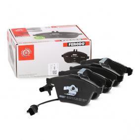 4F0698151B für VW, AUDI, SKODA, SEAT, Bremsbelagsatz, Scheibenbremse FERODO (FDB1629) Online-Shop