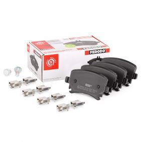 3C0698451A für VW, AUDI, SKODA, SEAT, Bremsbelagsatz, Scheibenbremse FERODO (FDB1636) Online-Shop