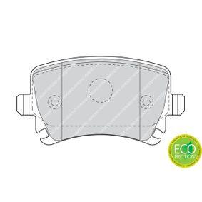 FERODO Bremsbelagsatz, Scheibenbremse FDB1636