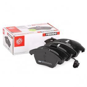3C0698151A für VW, AUDI, SKODA, SEAT, PORSCHE, Bremsbelagsatz, Scheibenbremse FERODO (FDB1641) Online-Shop
