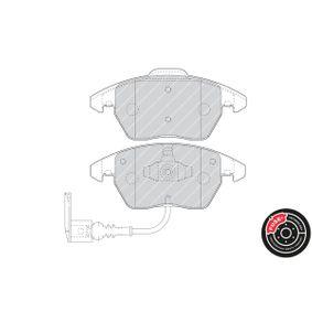 FERODO Kit de plaquettes de frein, frein à disque FDB1641