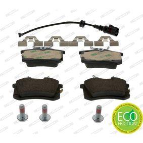 Bremsbelagsatz, Scheibenbremse FERODO Art.No - FDB1645 OEM: 6Q0698451 für VW, AUDI, SKODA, SEAT, HONDA kaufen