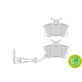 FERODO Bremsbelagsatz, Scheibenbremse 6Q0698451 für VW, AUDI, SKODA, SEAT, HONDA bestellen