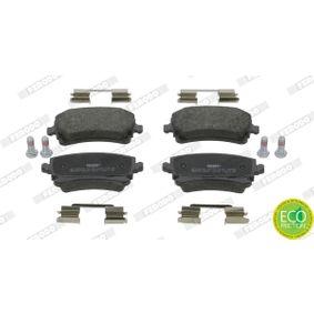 Bremsbelagsatz, Scheibenbremse FERODO Art.No - FDB1655 OEM: 4B3698451A für VW, AUDI, SKODA, SEAT kaufen
