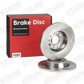 Golf V Хечбек (1K1) STARK Комплект спирачни дискове SKBD-0024616