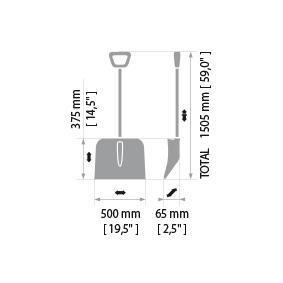 Лопата за автомобили от SNO-PRO - ниска цена
