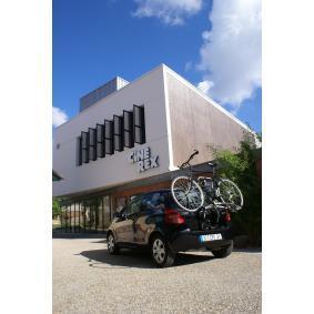 1001 Cykelholder, bagmonteret til køretøjer