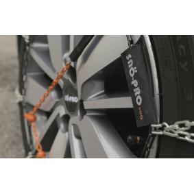 116 Snow chains for vehicles