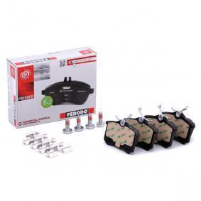 1E0698451G für VW, AUDI, FORD, SEAT, SKODA, Jogo de pastilhas para travão de disco FERODO(FDB1788) Loja virtual