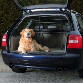 Barrier Mesh, boot- / cargo area for cars from TRIXIE - cheap price