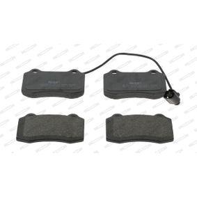 Bremsbelagsatz, Scheibenbremse FERODO Art.No - FDB1896 OEM: 1ML698151 für VW, AUDI, SKODA, SEAT kaufen