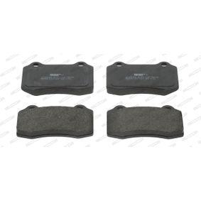 Bremsbelagsatz, Scheibenbremse FERODO Art.No - FDB1949 OEM: C2C8361 für VW, PEUGEOT, SEAT, CITROЁN, VOLVO kaufen
