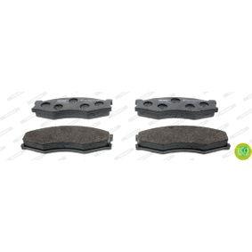 Bremsbelagsatz, Scheibenbremse FERODO Art.No - FDB340 OEM: 4106062C90 für PEUGEOT, NISSAN, SUZUKI, INFINITI kaufen