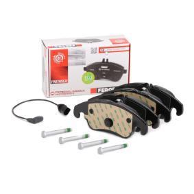 8K0698151H für VW, AUDI, SKODA, SEAT, PORSCHE, Bremsbelagsatz, Scheibenbremse FERODO (FDB4044) Online-Shop