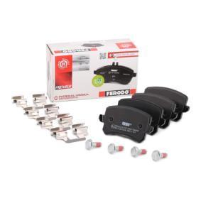 3AA698451 für VW, AUDI, SKODA, SEAT, PORSCHE, Bremsbelagsatz, Scheibenbremse FERODO (FDB4058) Online-Shop