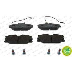 Bremsbelagsatz, Scheibenbremse FERODO Art.No - FDB406 OEM: 7701203070 für RENAULT, RENAULT TRUCKS kaufen