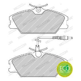 7701203070 für RENAULT, RENAULT TRUCKS, Bremsbelagsatz, Scheibenbremse FERODO (FDB406) Online-Shop