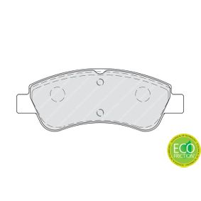 FERODO Brake Pad Set, disc brake FDB4066