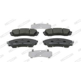 Bremsbelagsatz, Scheibenbremse FERODO Art.No - FDB4113 OEM: 581014DA00 für HYUNDAI, KIA kaufen