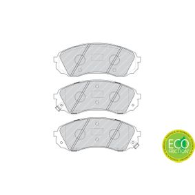 FERODO Bremsbelagsatz, Scheibenbremse 581014DA00 für HYUNDAI, KIA bestellen