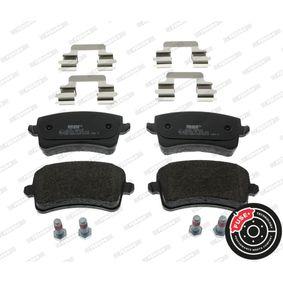 Bremsbelagsatz, Scheibenbremse FERODO Art.No - FDB4190 OEM: 8K0698451D für VW, AUDI, SKODA, SEAT kaufen