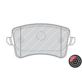 FERODO Bremsbelagsatz, Scheibenbremse 8K0698451D für VW, AUDI, SKODA, SEAT bestellen