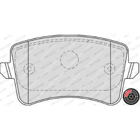 8K0698451D für VW, AUDI, SKODA, SEAT, Bremsbelagsatz, Scheibenbremse FERODO (FDB4190) Online-Shop