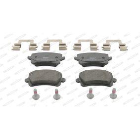 Bremsbelagsatz, Scheibenbremse FERODO Art.No - FDB4192 OEM: 3C0698451C für VW, AUDI, SKODA, SEAT kaufen
