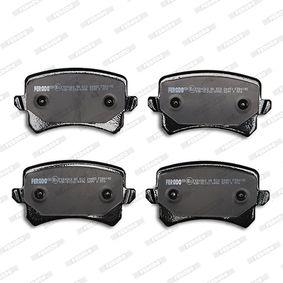 FERODO Bremsbelagsatz, Scheibenbremse (FDB4192) niedriger Preis