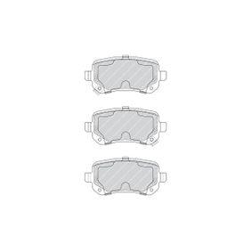 FERODO Bremsbelagsatz, Scheibenbremse 68029887AA für MERCEDES-BENZ, FIAT, ALFA ROMEO, JEEP, CHRYSLER bestellen