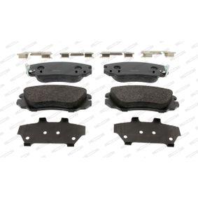 Bremsbelagsatz, Scheibenbremse FERODO Art.No - FDB4207 OEM: 1605624 für OPEL, CHEVROLET, SAAB, VAUXHALL, HOLDEN kaufen