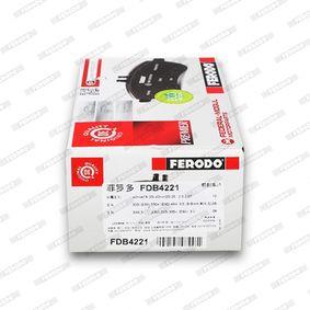 FERODO Bremsbelagsatz, Scheibenbremse 34116794917 für BMW, MINI bestellen